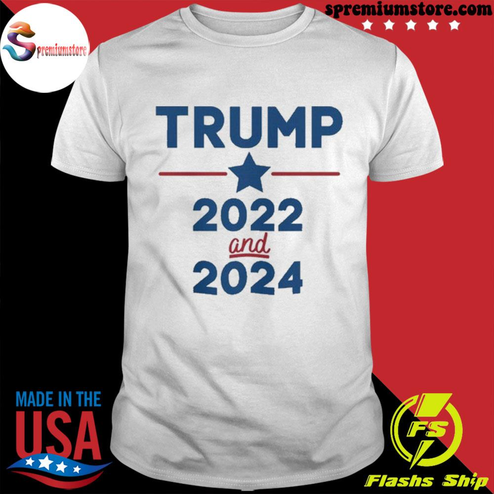 Trump 2022 and 2024 patriotic ugly Christmas sweater