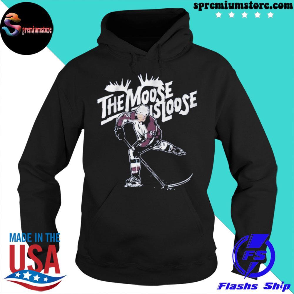 Mikko rantanen moose is loose 2021 s hoodie-black