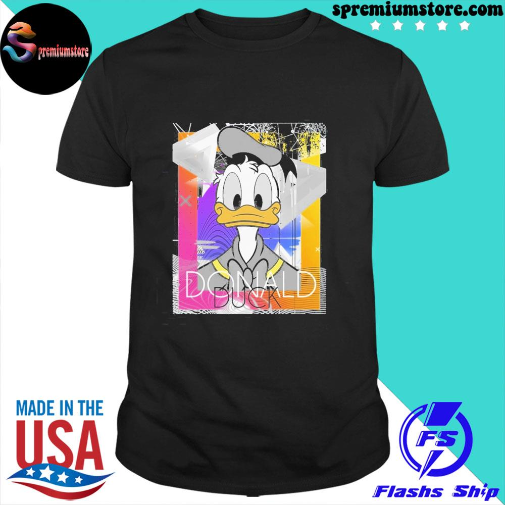 Official disney mickey and friends donald duck shirt