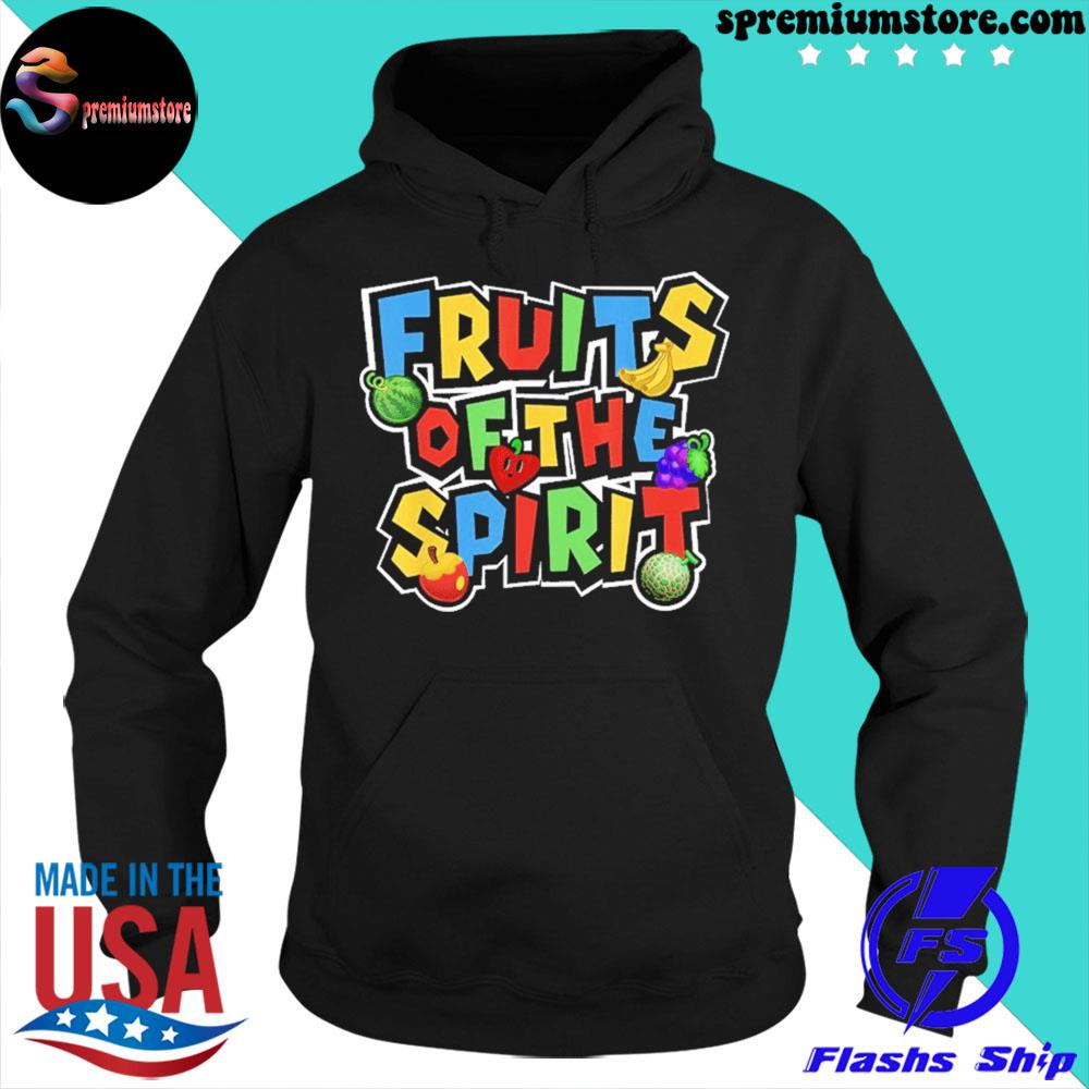 Official fruits of the spirit s hoodie-black