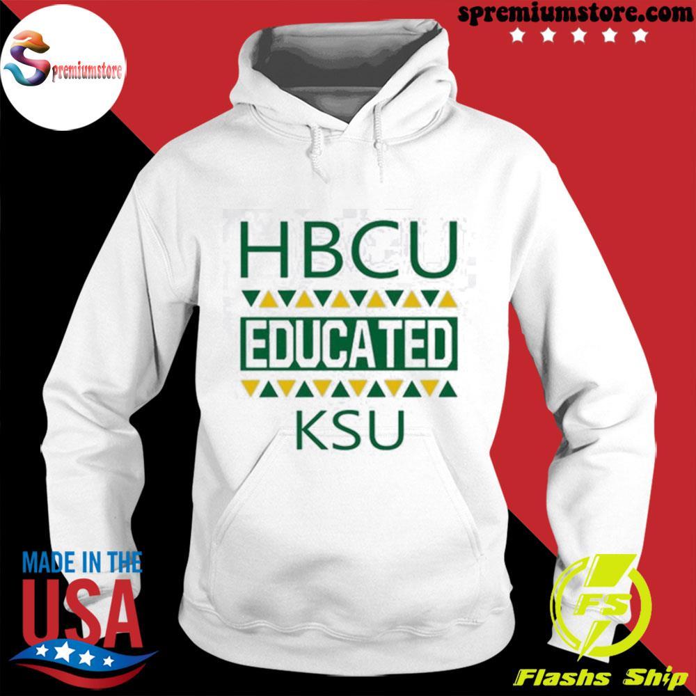 Official hbcu educated ksu s hodie-white