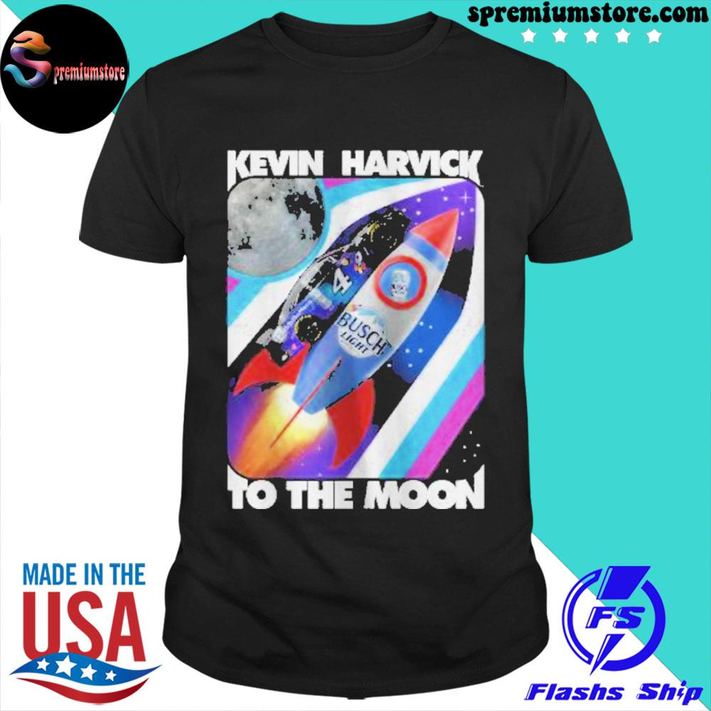 Official kevin harvick busch light to the moon shirt
