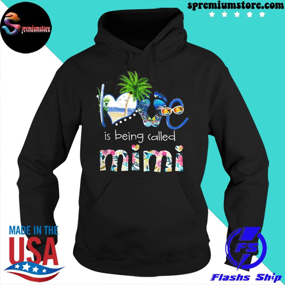 Official love sea is being called mimi s hoodie-black