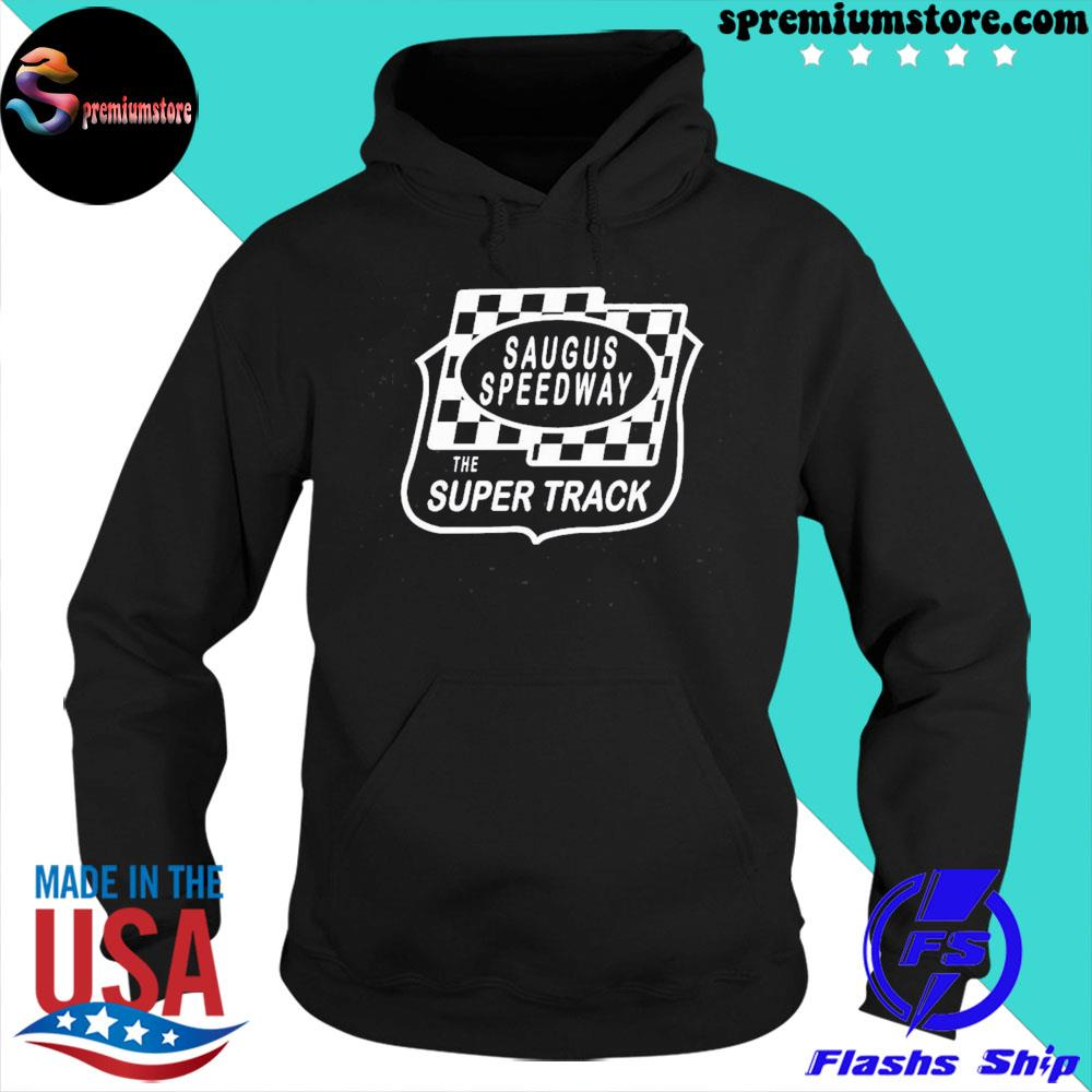 Official saugus speedway the super track us 2021 s hoodie-black