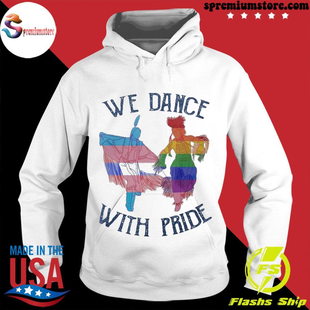 We dance with pride premium s hodie-white