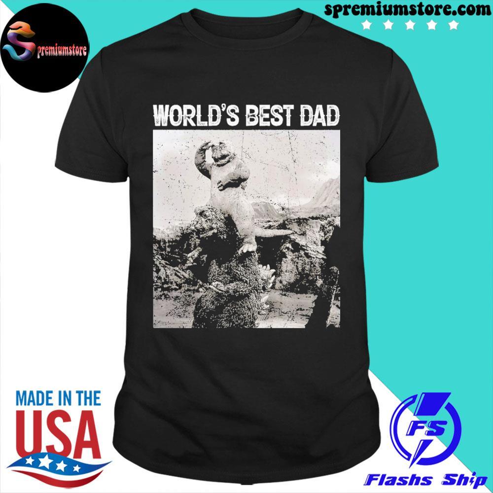 Son of godzilla world's best dad shirt