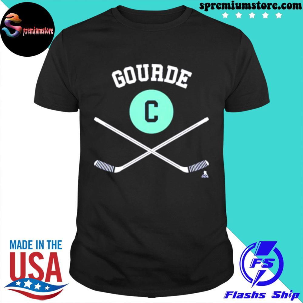 Original yanni Gourde Seattle Kraken Position shirt